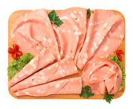 Mortadella of Bologna Royalty Free Stock Image