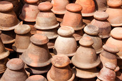 Mortaio dell'argilla Fotografia Stock Libera da Diritti