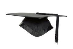 Mortaio di graduazione isolato. Fotografia Stock