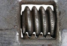 Mortaja del ajuste de la llave francesa Imágenes de archivo libres de regalías