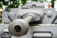 Mortal danger, ols russian tank Stock Images