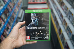 Mortal Kombat XL videogame on XBOX One Royalty Free Stock Images