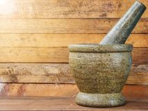 Free Mortar And Pestle Royalty Free Stock Photo - 105118055