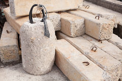 Mortar bars for clutter fish trap Stock Photography
