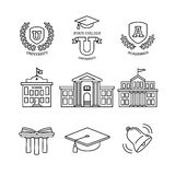 Mortar board, education, school and university Stock Photography