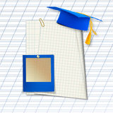 Mortar board or graduation cap Royalty Free Stock Images