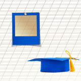 Mortar board or graduation cap Royalty Free Stock Image