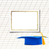 Mortar board or graduation cap Stock Photos