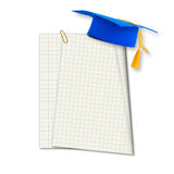 Mortar board or graduation cap Royalty Free Stock Photos
