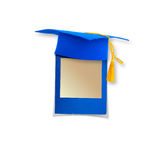 Mortar board or graduation cap Stock Photo