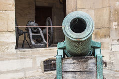 Mortar cannon at musee de l'armee, les Invalides, Paris Stock Photography