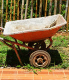 Mortar cart Stock Photography
