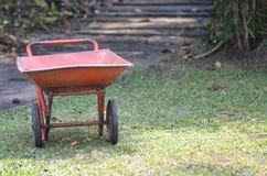 Mortar cart Stock Image