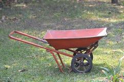 Mortar cart Royalty Free Stock Photo