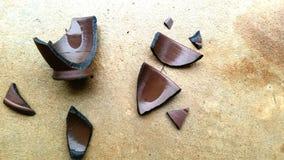 Broken relationship and broken heard stock photo