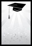 Mortar in graduation in grey vector eps Stock Photo