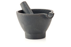 Mortar with pestle Royalty Free Stock Image