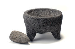 Mortar and pestle Stock Image