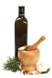 Mortar with a pestle Stock Photography