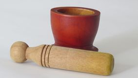 Traditional Mortar and pestle photo 4 royalty free stock images