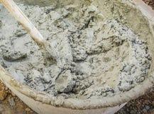 Mortar for plastering Stock Photo