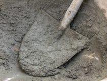 Mortar preparation Stock Images