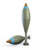 Mortar shells Royalty Free Stock Photo