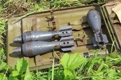 Mortar shells Stock Image