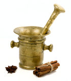 Mortar and spice Stock Images