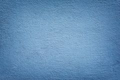 Mortar Wall Painted Blue Color. Design for Artwork and orther Royalty Free Stock Images