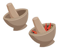 Free Mortar With The Curry Stock Photos - 91548033