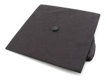 Mortarboard de graduation Photographie stock