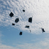 Mortarboards Stock Photo