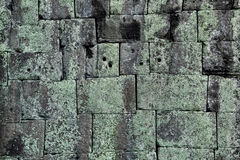 Mortarless-Stein-Block-Wand Lizenzfreie Stockbilder