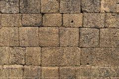 Mortarless-Stein-Block-Wand Lizenzfreies Stockbild