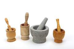 Mortars Stock Photography