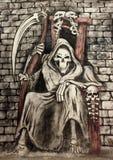A morte ilustração stock