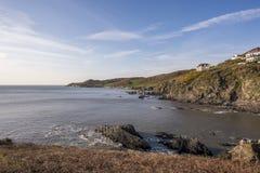 Morte-Bucht in Nord-Devon Lizenzfreies Stockbild