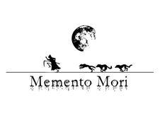 Morte com wolfs ilustração royalty free