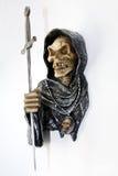Morte con una spada Fotografia Stock
