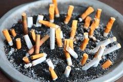 Morte de fumo Fotografia de Stock