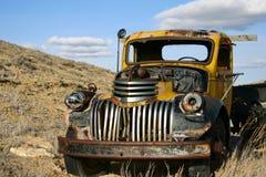 Morte de um caminhão Fotografia de Stock