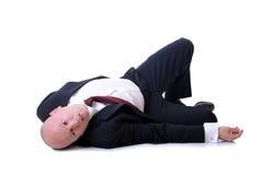 Morte de um vendedor Fotografia de Stock Royalty Free