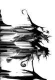 Morte degli alberi Immagine Stock