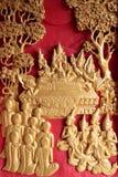 Morte del Buddha Fotografia Stock Libera da Diritti