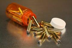 Morte della pillola Immagine Stock