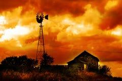 Morte di un'azienda agricola Fotografia Stock