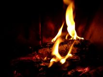 Morte do fogo Imagens de Stock