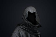 Morte nel concetto del cappuccio Fotografie Stock Libere da Diritti