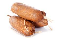 Morteau sausages Stock Image